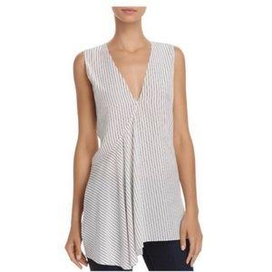 Theory silk tank blouse